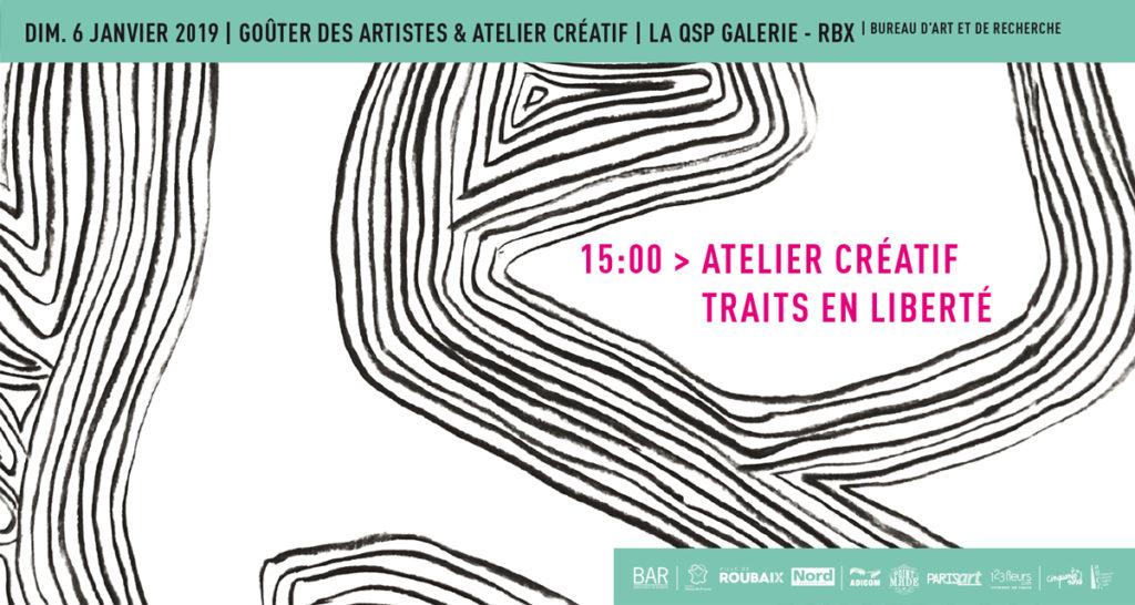 Goûter des artistes   atelier créatif – Traits en liberté 197753725ce6